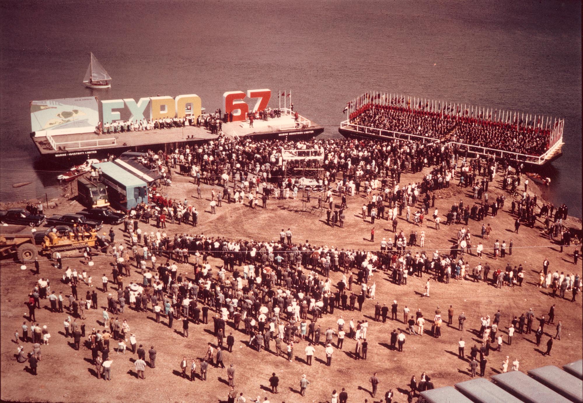 Nan-b et Philippe II de Gaspé Beaubien, au cœur des célébrations entourant les 50 ans d'Expo 67